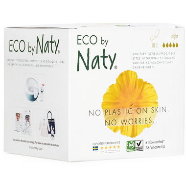 Eco by Naty Sanitary Pads Night