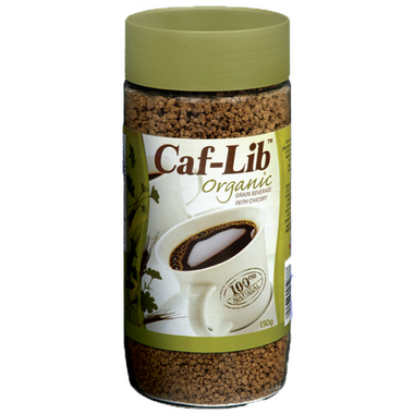 Caf-Lib Organic Grain Coffee Alternative with Chicory