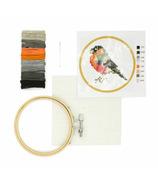 Kikkerland Embroidery Kit Bird