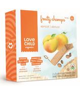 Love Child Organics Fruity Chomps Apricot Bars