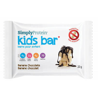 Simply Protein Kids Bars Banana Chocolate Case