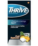 Thrive 4mg Nicotine Replacement Gum Fruit Xplosion
