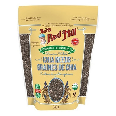 Bob\'s Red Mill Organic Whole Chia Seeds