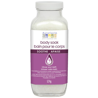 Aura Cacia Soothe Bath Body Soak