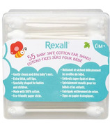 Rexall Baby Safe Cotton Ear Swabs
