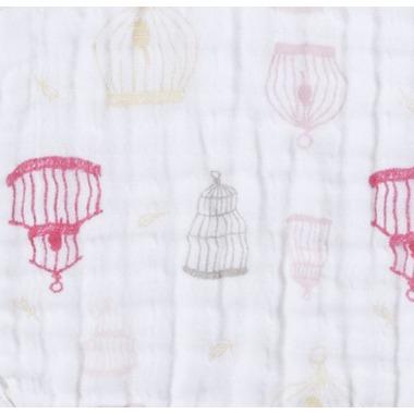 aden + anais Dream Blanket Lovebird Birdcage