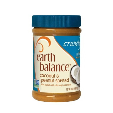 Earth Balance Crunchy Coconut & Peanut Spread