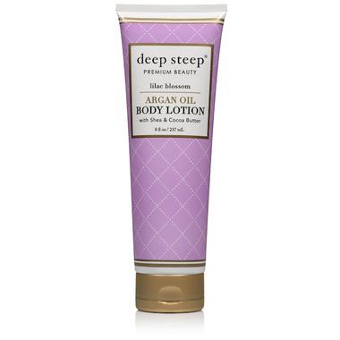 Deep Steep Argan Oil Body Lotion Lilac Blossom