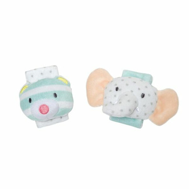Manhattan Toy Playtime Plush Wrist Rattle Set