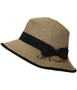 Calikids Straw Hat Black