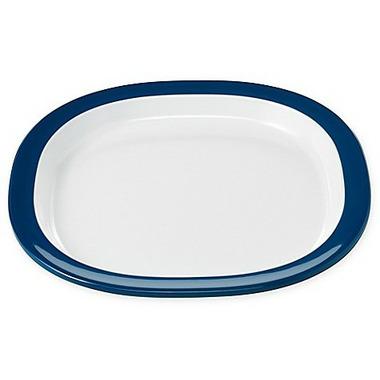 OXO Tot Melamine Plate Navy