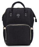 AOFIDER Diaper Bag Black