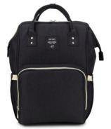 AOFIDER Diaper Bag Black