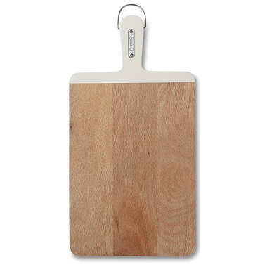 Suzie Q Small Cutting Board White