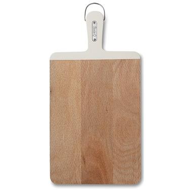 Suzie Q Small Cutting Board White
