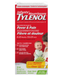 Tylenol Infants' Fever & Pain Suspension Drops Grape