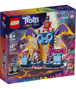 LEGO Trolls World Tour Volcano Rock City Concert Building Kit