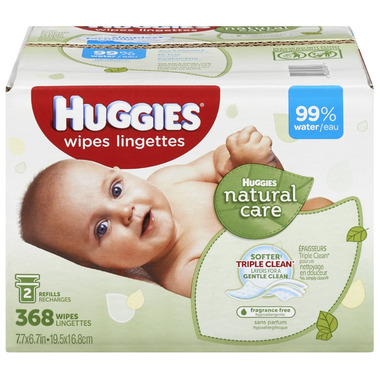 Buy Huggies Natural Care Fragrance Free Baby Wipes At Well
