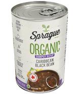 Sprague Organic Caribbean Black Bean Soup