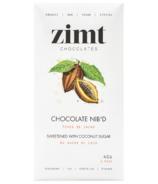 Zimt Chocolates Chocolate Nib'd Coconut Sugar Chocolate