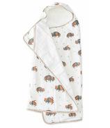 Little Unicorn Cotton Hooded Towel Big Kid Bison