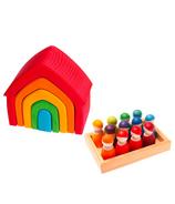 Grimm's Rainbow Village Bundle