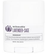 Schmidt's Deodorant Lavender & Sage Deodorant Travel Size