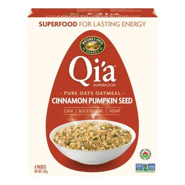 Nature\'s Path Qi\'a Pure Oats Oatmeal Cinnamon Pumpkin Seed