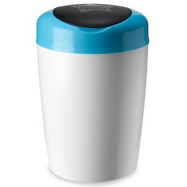 Tommee Tippee Simplee Diaper Pail With 4 Refills Blue