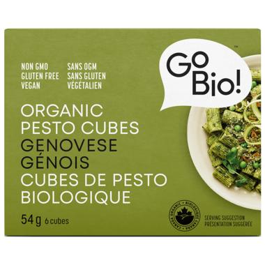 GoBIO! Organic Pesto Genovese Cubes