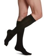 Sigvaris Sea Island Cotton Compression Socks Womens Black