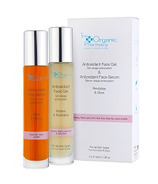 The Organic Pharmacy Antioxidant Face Gel & Antioxidant Face Serum Duo