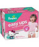 Pampers Easy Ups Training Underwear Super Pack Hello Kitty