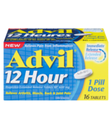 Advil 12 Hour Ibuprofen Extended Release Tablets 16 Pack