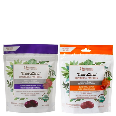 Quantum Organic TheraZinc Lozenges Bundle