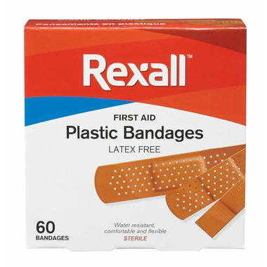 Rexall Latex Free Plastic Bandages