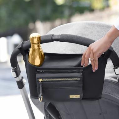 Skip Hop Grab & Go Luxe Stroller Organizer Black