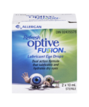 Refresh Optive Fusion Lubricant Eye Drops Dual Pack