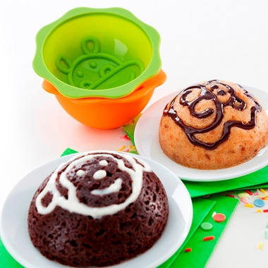 Lekue Set of 6 Deco MiniCake Mold