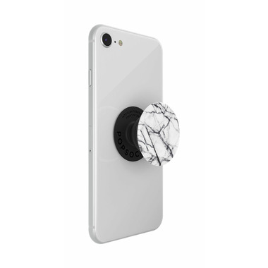 Popsockets Phone Grip Dove White Marble