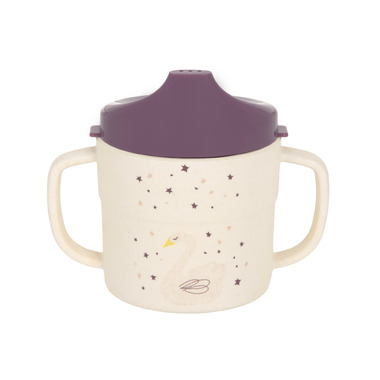 Lassig Bamboo Sippy Cup Little Water Collection Swan
