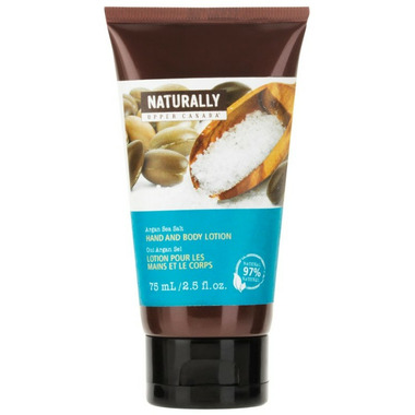 Upper Canada Soap Naturally Argan Sea Salt Hand & Body Lotion