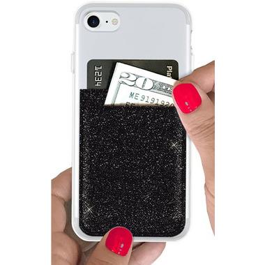 iDecoz Phone Pocket Black Glitter