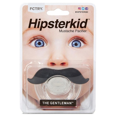 FCTRY Hipsterkid Mustachifier The Gentleman Black