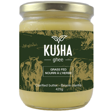 KUSHA Ghee Grass Fed Clarified Butter
