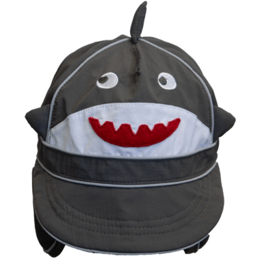 Calikids Long Back Quick-Dry Cap Shark Granite