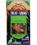 Lick Your Chops Treat-Umms Chicken & Apple Wraps Dog Treats