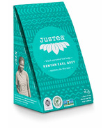 JusTea Black Pyramid Tea Bags Kenyan Earl Grey