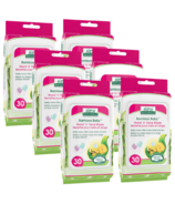 Aleva Naturals Bamboo Baby Hand 'n' Face Wipes 5 + 1 Pack