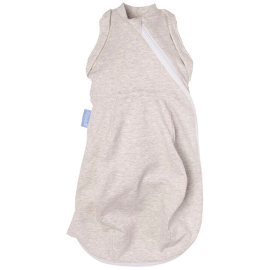Grosnug Newborn Light Weight Swaddle Grobag Grey Marl